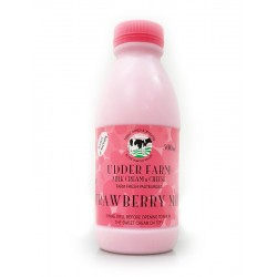Udder Farm Flavoured Milk Strawberry 600ml