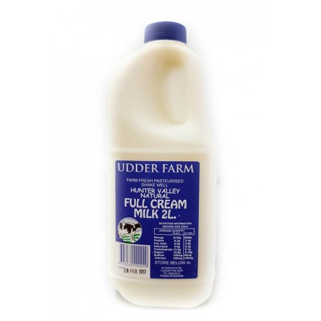 2 litre Full Cream Milk