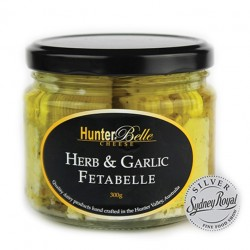 Herb and garlic marinated Fettaballe (fetta) 300grs
