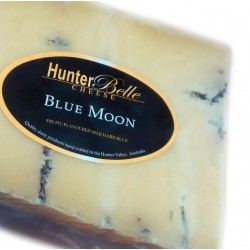 Blue Moon cheese (semi hard blue)