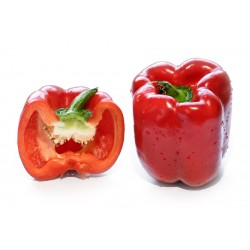 Capsicum, red 300g approx ($6.50/kg)