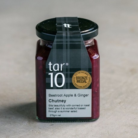 Beetroot Apple & Ginger Chutney
