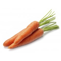 Carrots, 2 approx 280grams ($2.50/kg)