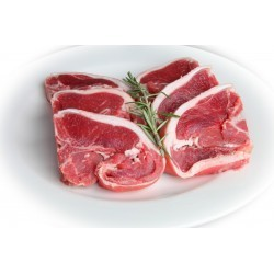 Lamb Loin Chops, 4 pieces (500g)