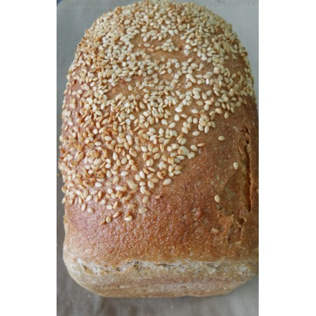 Sourdough Sesame Seeds Bread
