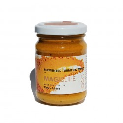 Tumeric Tonic - Magic Life - Organic Fermented Tumeric Tonic 100g