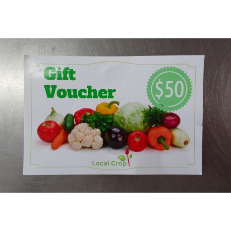 Local Crop Voucher