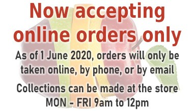 online orders only